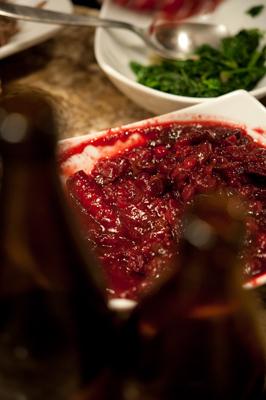 Cranberry Wit Sauce