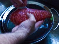 Curing Salmon Roe Caviar