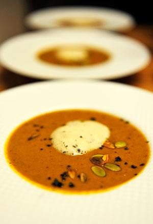 Thai Style Pumpkin Coconut Holiday Ale Soup