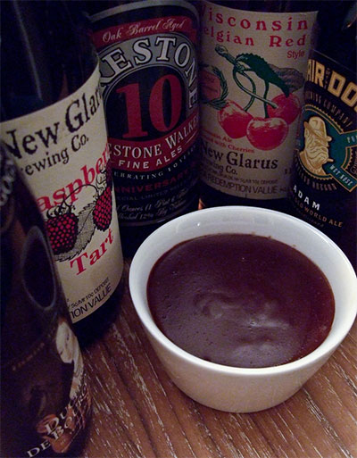 Chocolate Stout Pudding by Sean Z. Paxton