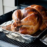 Grilled Beer Brined Turkey