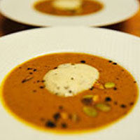 Thai Pumpkin Coconut Holiday Ale Soup