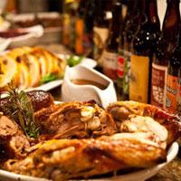 Thanksgiving Holiday Feats Menu