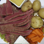 Stout Cured Corned Beef and Cabbage