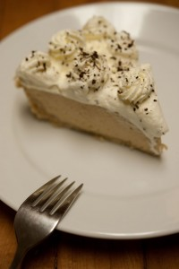 Irish Car Bomb Pie - Slice