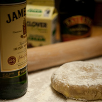Irish Car Bomb Pie - Crust