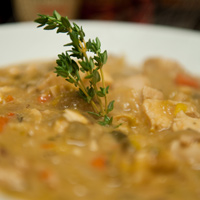 Chicken and Leek Stew