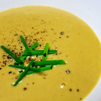 Cream (Ale of Curried Parsnip Soup