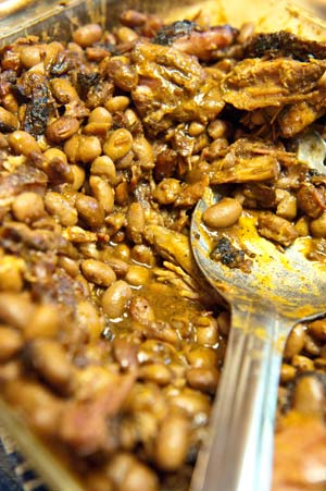 Pinto Beans with Smoked Ham Hock