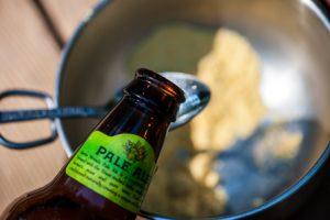 Hot Beer Mustard Sauce