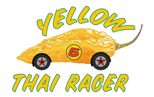 Eat Beer Hot Sauce | Yellow Thai Racer