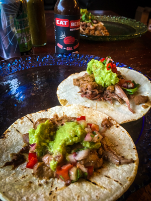 Duck Tacos - Duck Mole Carnitas