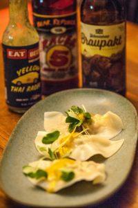 Thai Inspired Shrimp Dumplings