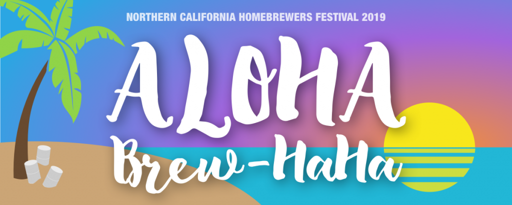 Northern California Homebrew Festival Friday Night Brewers Dinner Menu 9-20-19