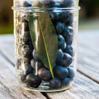 Pickled Blueberries tall