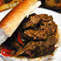 Chicago-Style Italian Beef Sandwich
