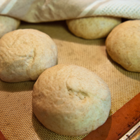 Homemade Pita Beer Bread