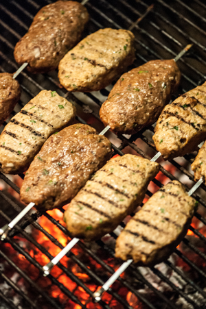 Chicken & Turkey Köfte with IPA